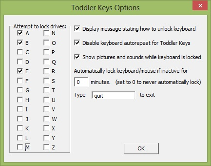 Tollder Keys Options